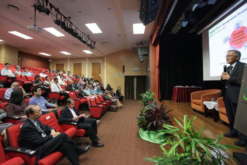 Prof Ho elaborates on the fourth industrial revolution.