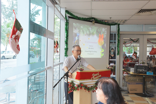 Prof Ho called staff to embrace a spirit of thanksgiving.