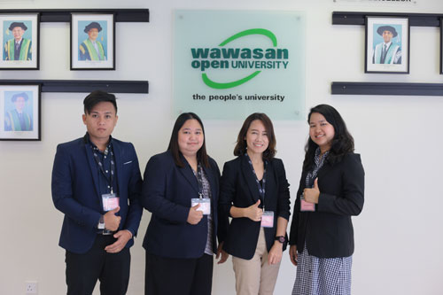 (From Left): Sathaporn, sutida, suchittra and nattawan.