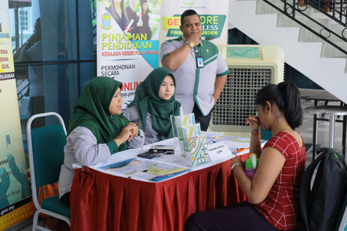 Inquiring about the Penang State Education Loan.
