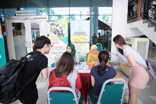 The Penang State Education Loan draws interest from the students.