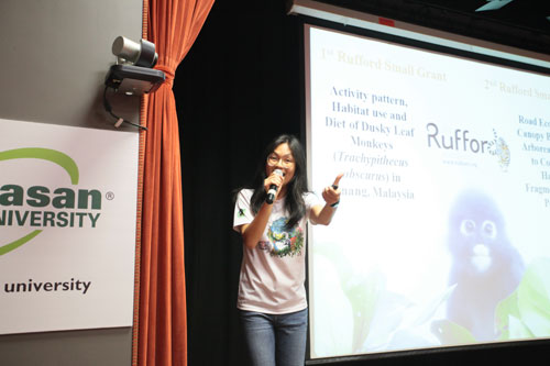 Yap shares about Langur Project Penang and its work.