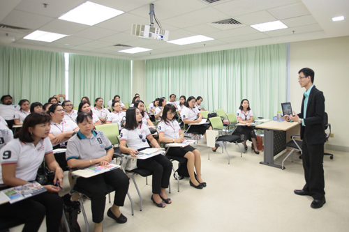 Ooi shares about the University and its programmes.