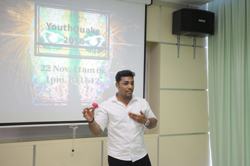 'Beautiful' friends will add fragrance to our lives, just like the rose, says Previnan.