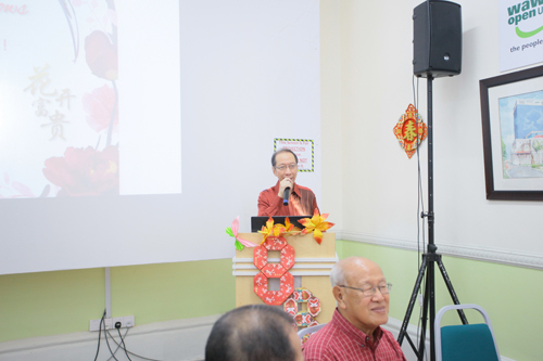 WOU will continue to hold in-house celebrations for the major festivals, says Dr Koh.