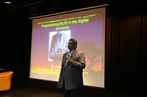 Dr Arivalan had the audience in stitches with his examples and explanations.