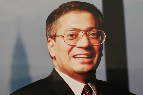 Tan Sri Rashid Hussain will receive an Honorary Doctor of Business degree.