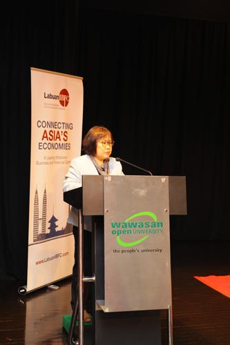 Prof Zoraini welcomes the collaboration with Labuan FSA.
