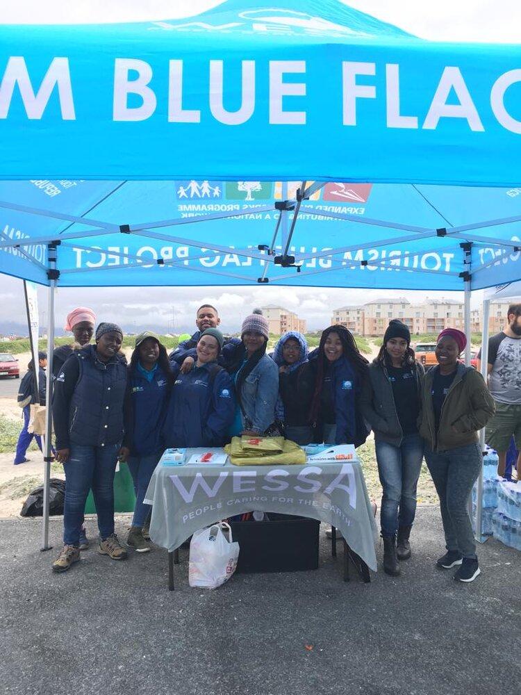 Cape Town beach stewards at International Coastal Cleanup 2018.jpeg