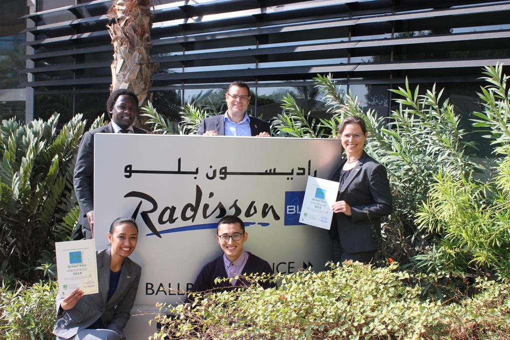 Green Key awarded Radisson Blu Yas Island Hotel in United Arab Emirates