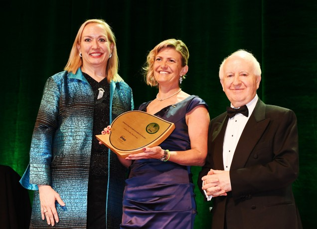 Inge Huijbrechts receives the IMEX Award