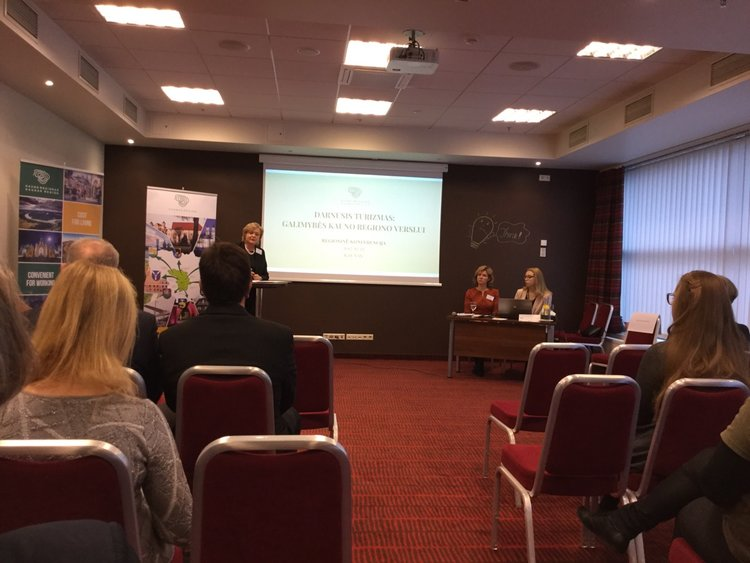 Green Key present at sustainable tourism conference in Kaunas, Lithuania