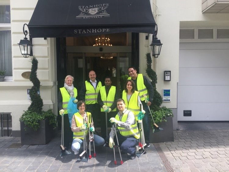 Stanhope Hotel cleans up Brussels