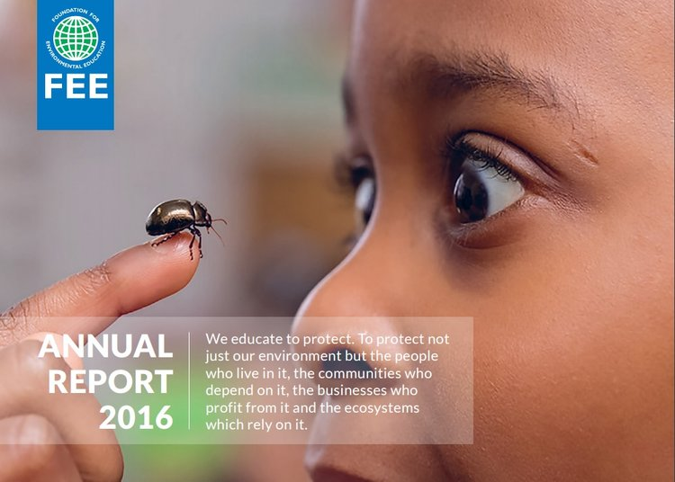 Green Key's achievements in 2016 are proudly featured in the FEE Annual Report