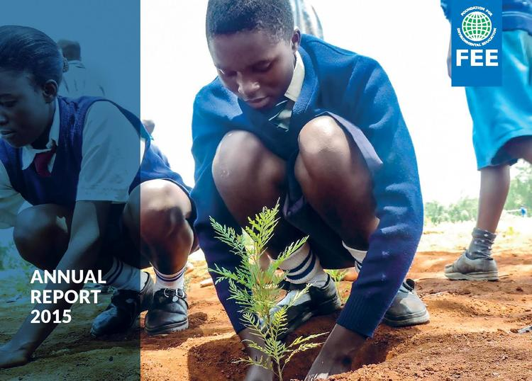 Green Key's achievements are proudly featured in the FEE Annual Report 2015