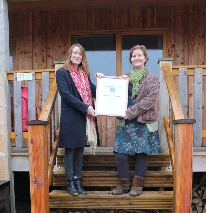 Denmark Farm sets the standard for environmental tourism in Wales