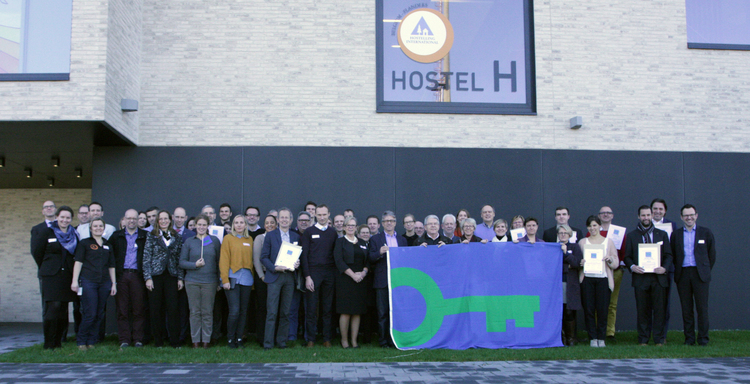 10 years Green Key Belgium-Flanders celebrated with 115 awards