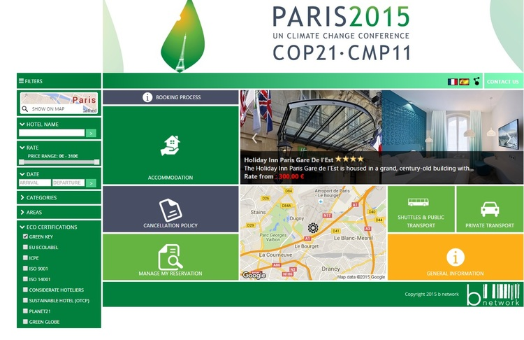 Green Key hotels recommended at COP21