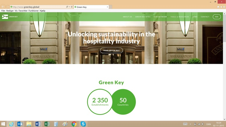 Launch of new Green Key website