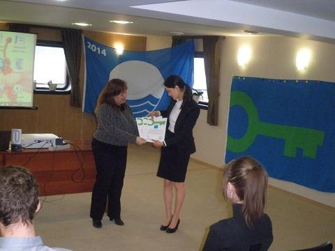 5 year celebration and award ceremony for Green Key Ukraine