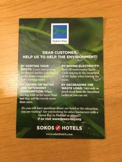 Original Sokos Hotel Helsinki – a champion in sustainability communication!