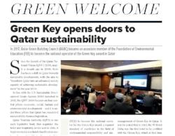Hotelier Qatar Magazine featuring Green Key