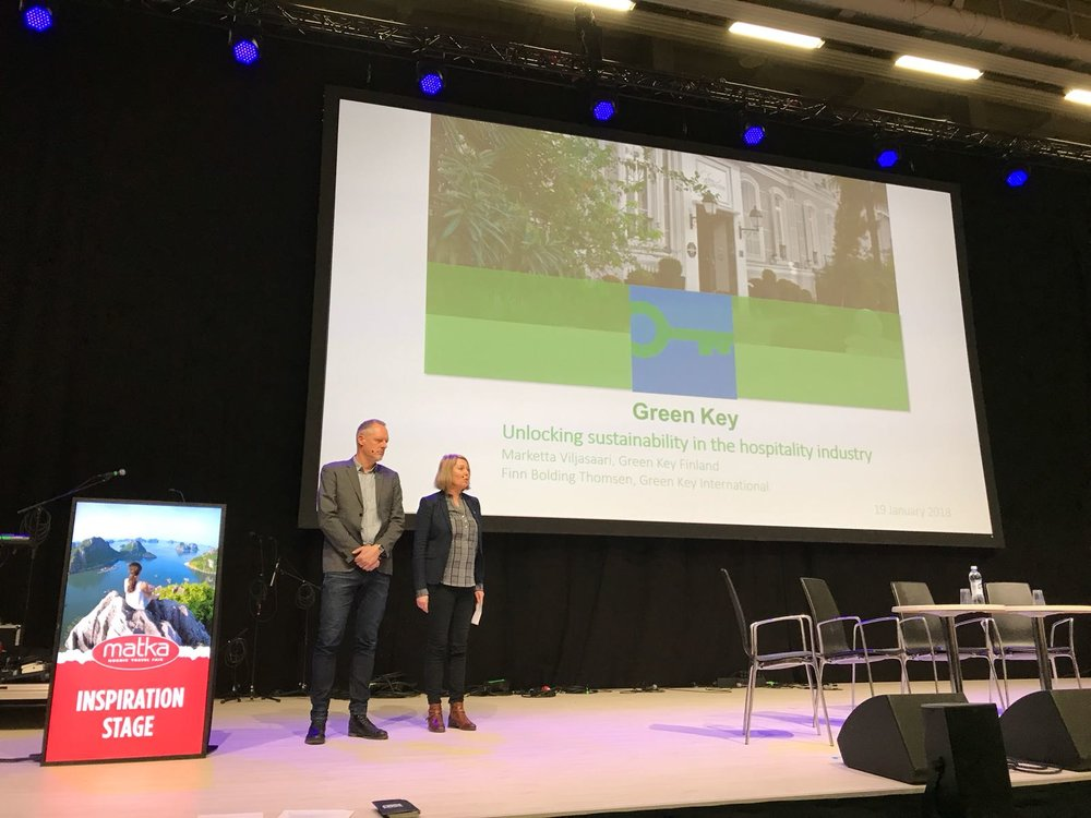 Green Key highlighted as an example of sustainable tourism at Helsinki Travel Fair