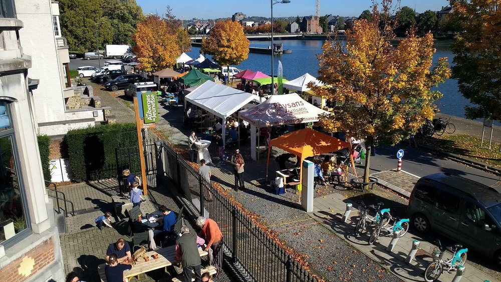 Auberge de Jeunesse de Namur - local hot spot for outdoor activities and sustainability supporters