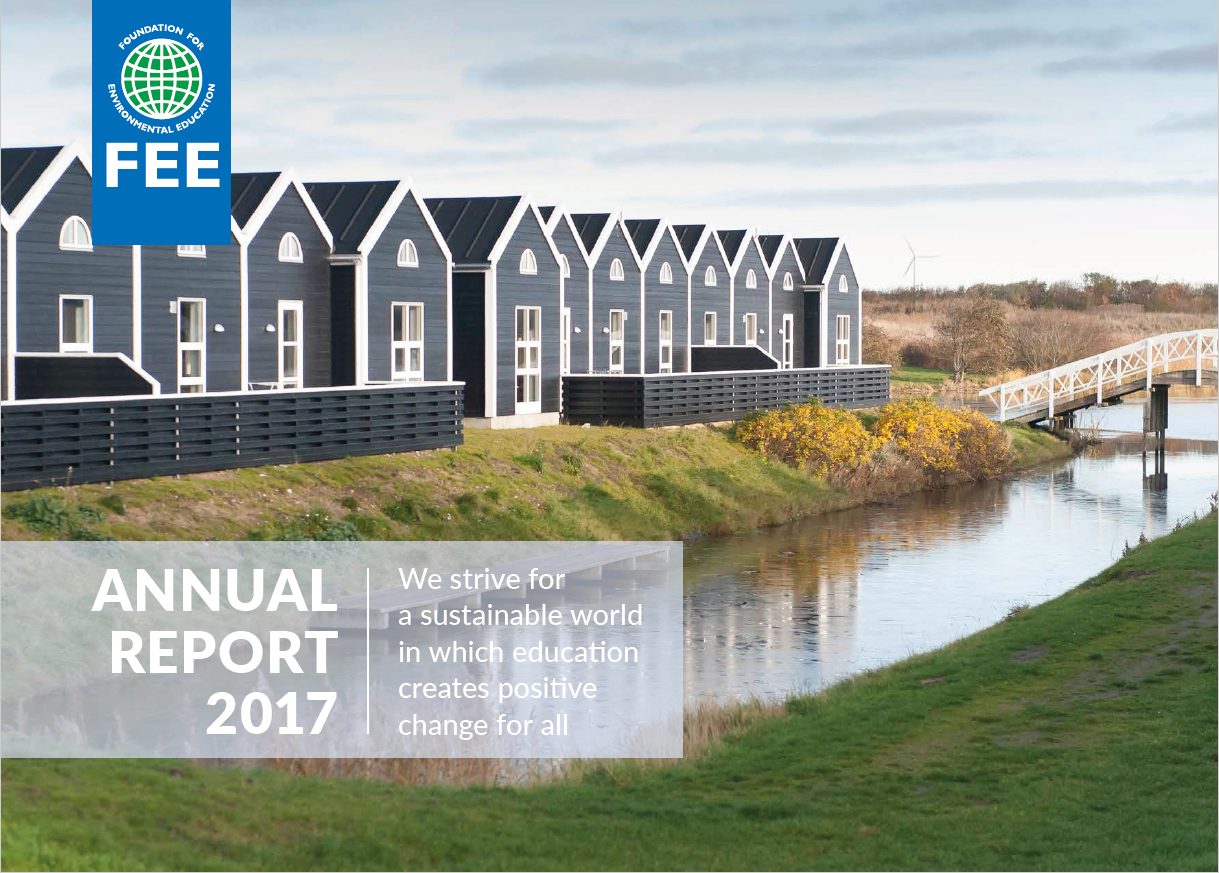 Green Key's recent accomplishments from 2017 are highlighted in the latest FEE Annual Report