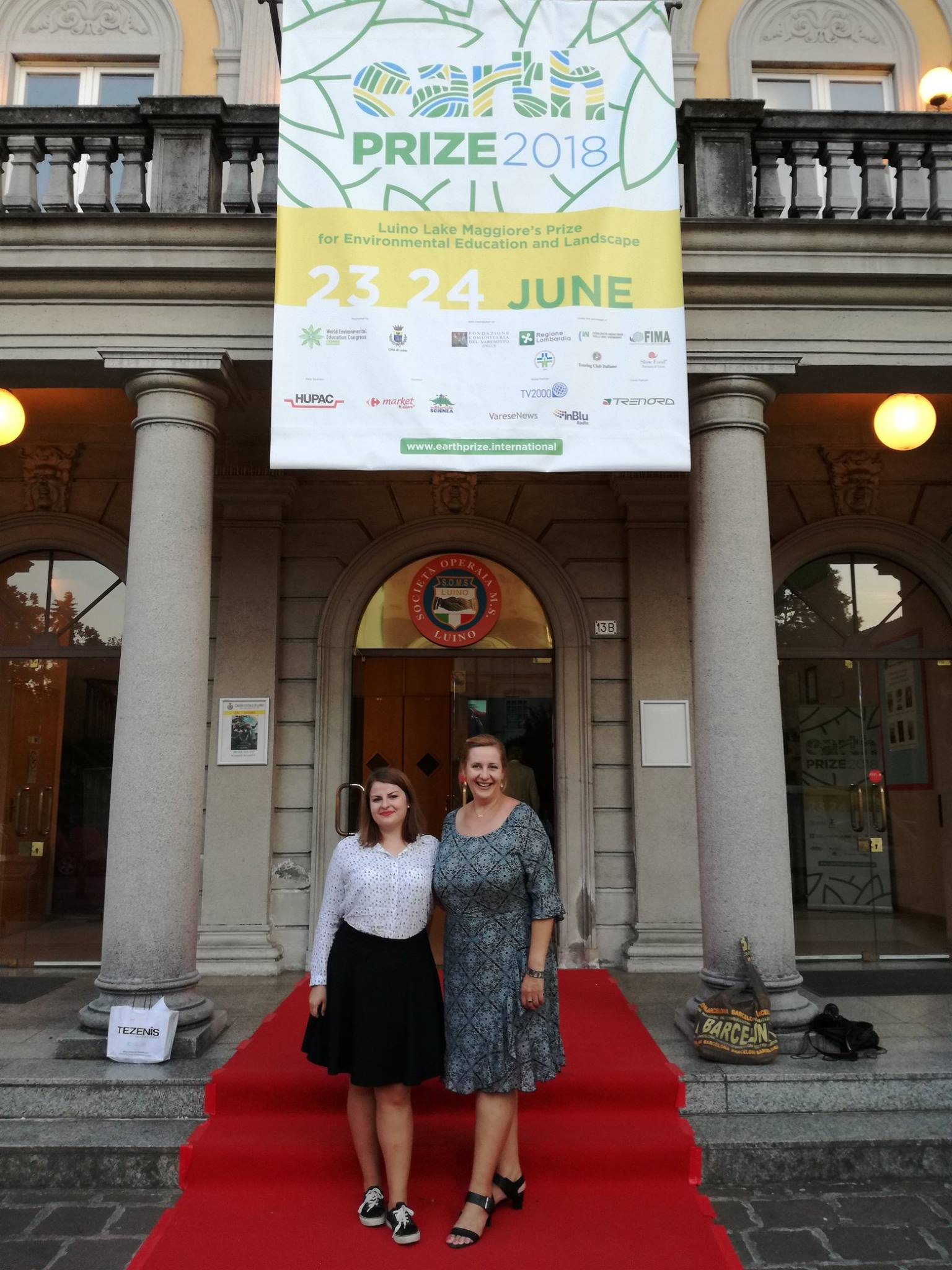 YRE International awarded with the Earth Prize 2018