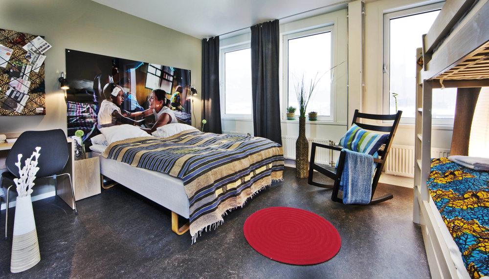 HI Lillehammer-Stasjonen Hotell and its unique interior concept