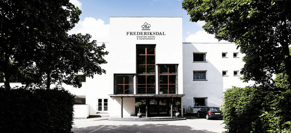 Sinatur Hotel Frederiksdal has special focus on organic and locally sourced food