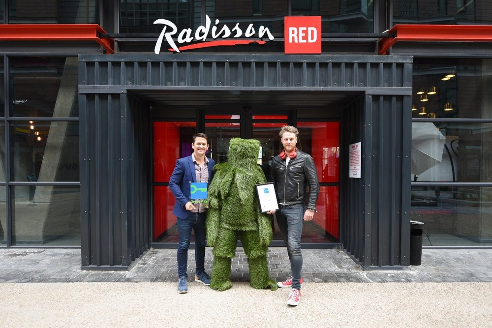 First Radisson RED Hotel in Africa with the Green Key award