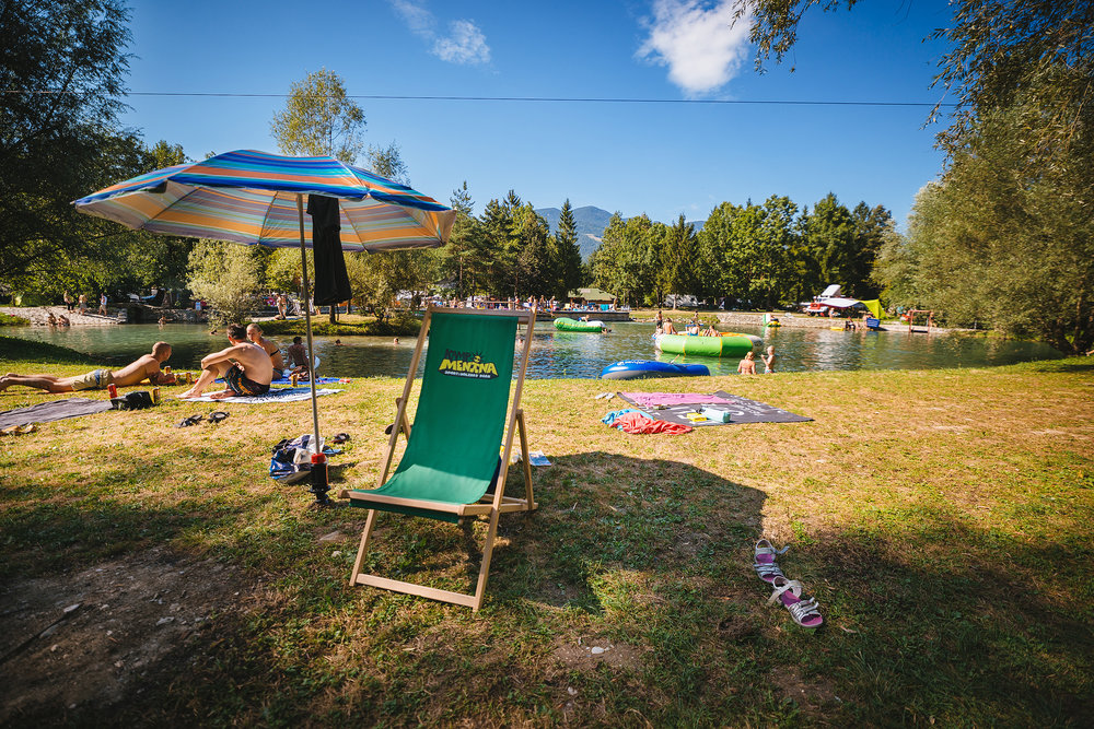 Kamp Menina - the first Green Key campsite in Slovenia