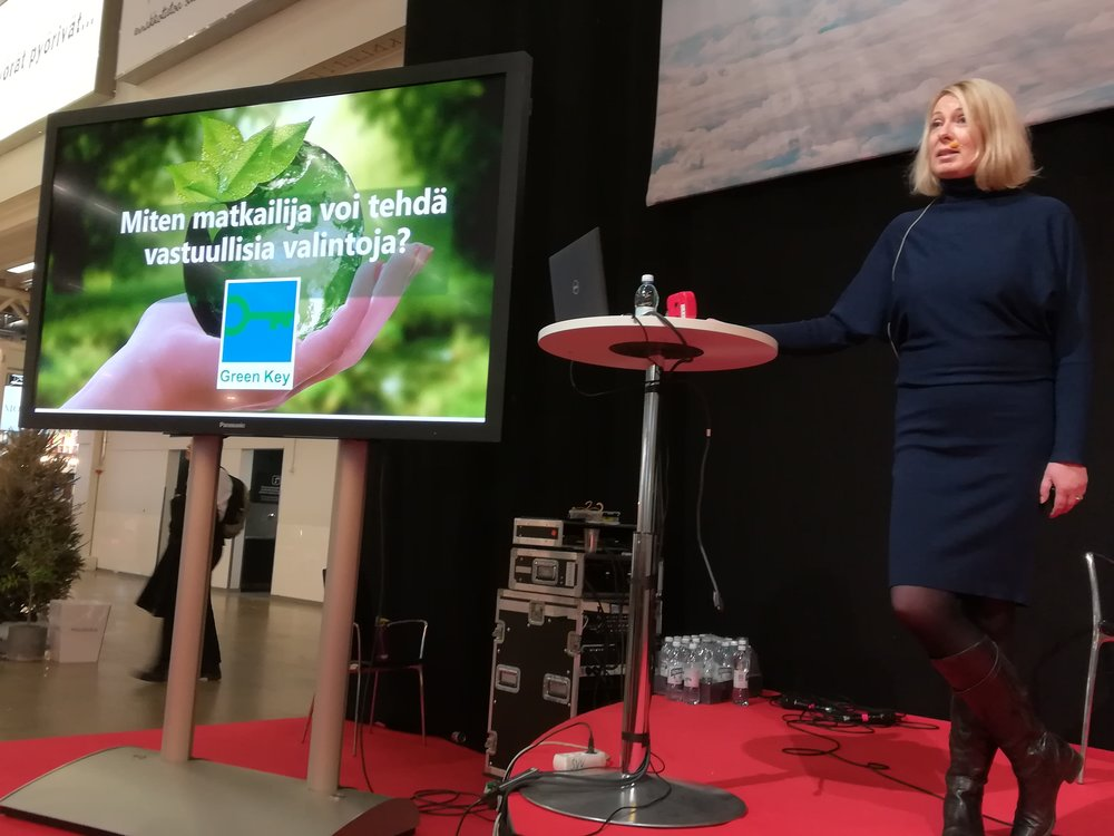 Helsinki Travel Fair 2019 with focus on sustainable travel