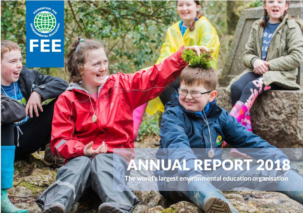 Green Key's 2018 achievements featured in FEE's Annual Report
