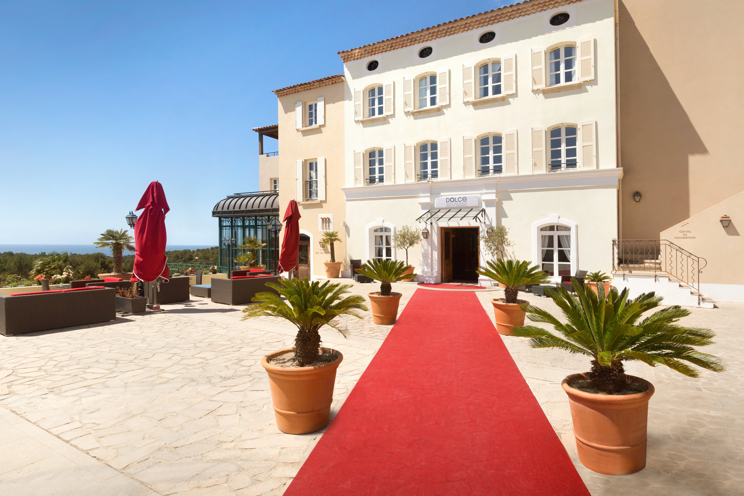 Dolce Fregate Provence - Entrance of the Hotel - Plazza - 1129275.jpg