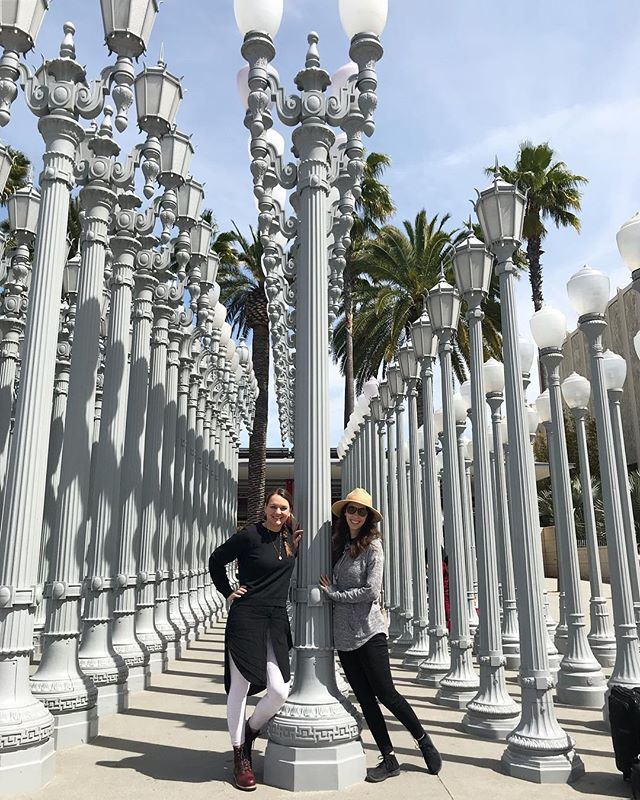 Our flight back to Austin got cancelled last night so we are stuck in LA for another 24 hours but definitely making the best of it 🌴🌴🌴
