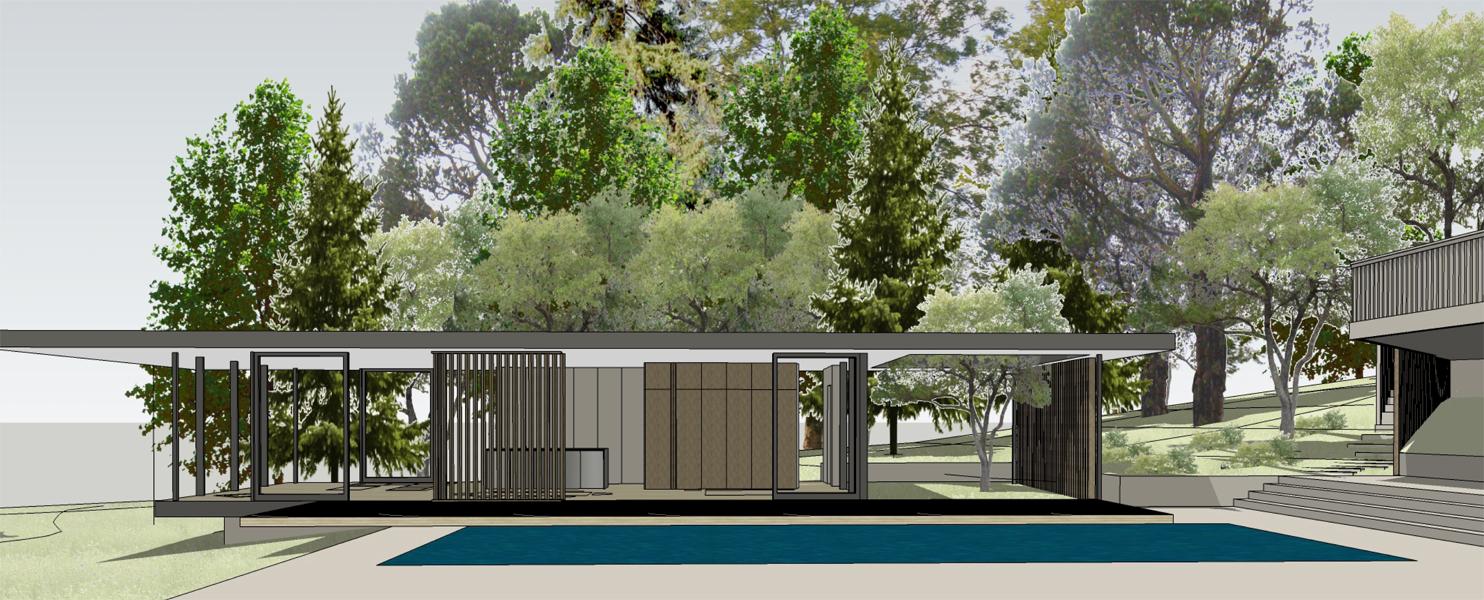 Los Altos Hills | Pool + Guest Pavilion