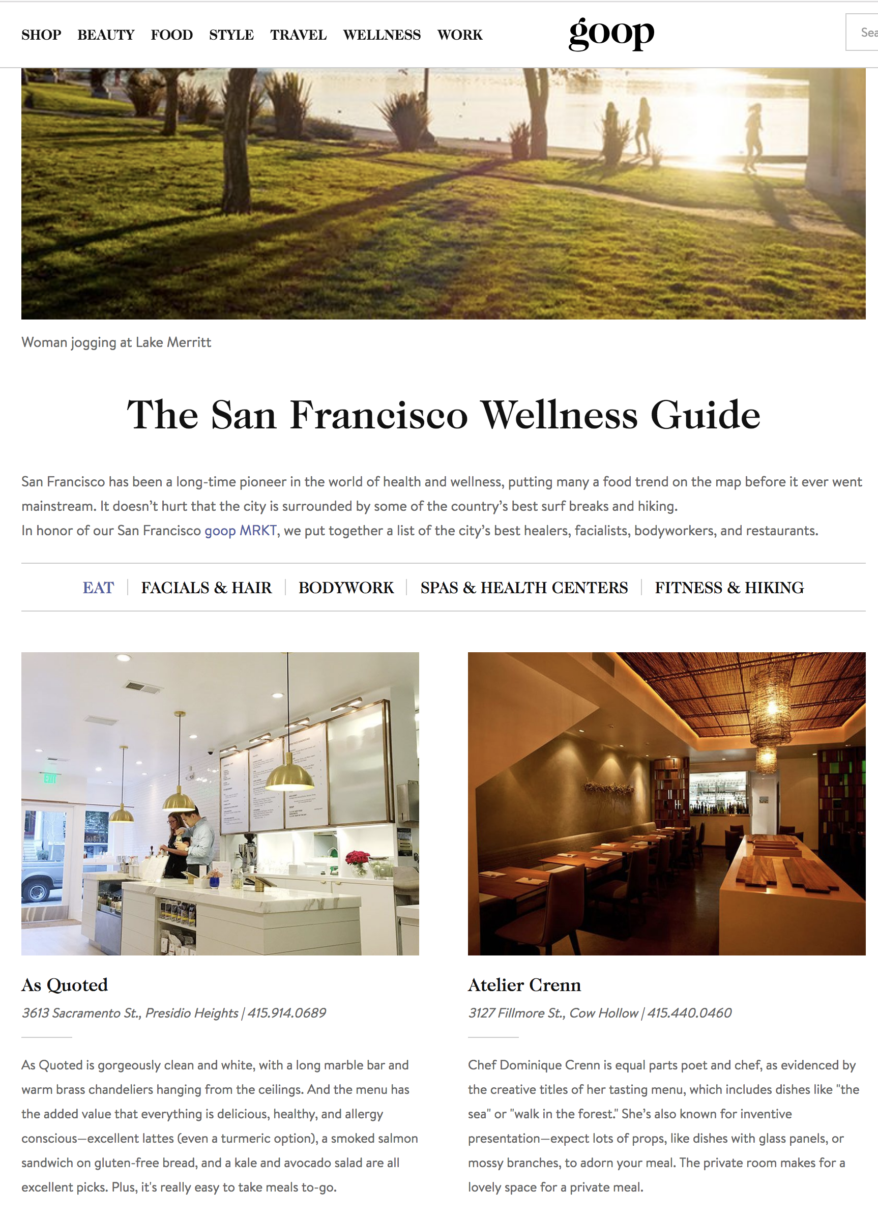 Click to read the whole wellness guide.