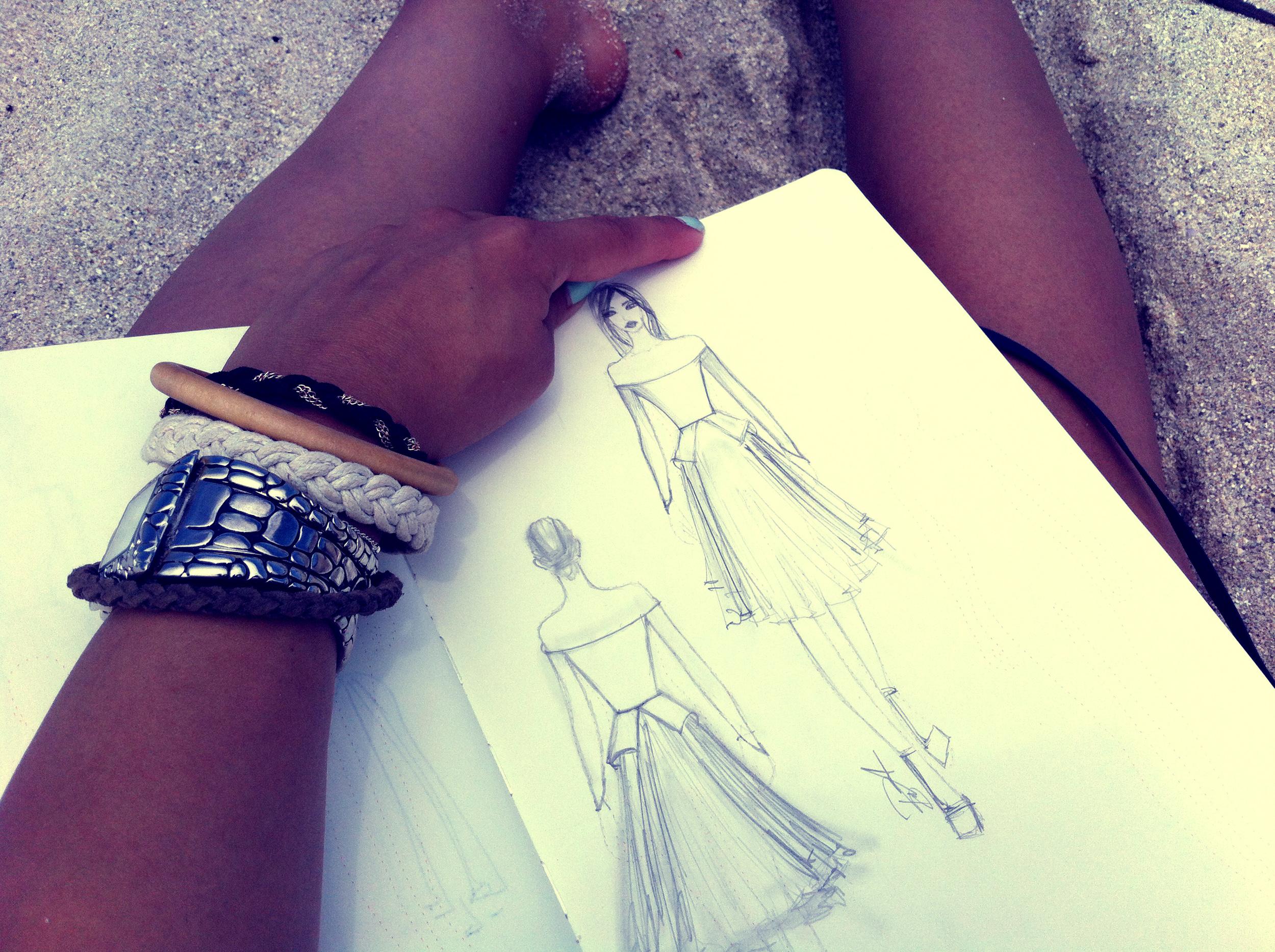 south beach sketching final