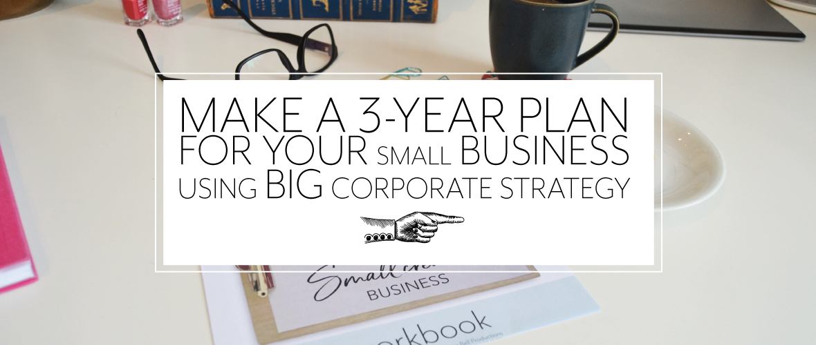 Make a 3-year plan for your design business