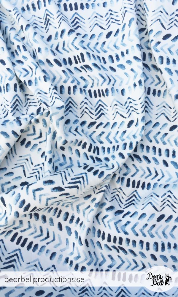 "Pattern design ""Ethnic"" by Swedish pattern designer Bärbel Dressler at Bear Bell Productions."