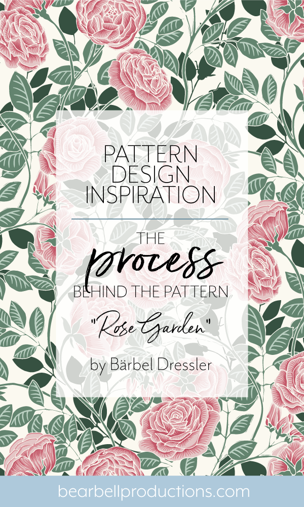 """Read about how Swedish pattern designer Bärbel Dressler creates her motifs and patterns by """"painting"""" in Illustrator."""