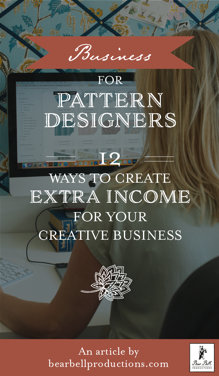 12 ways to make extra income for your creative business — Bear Bell