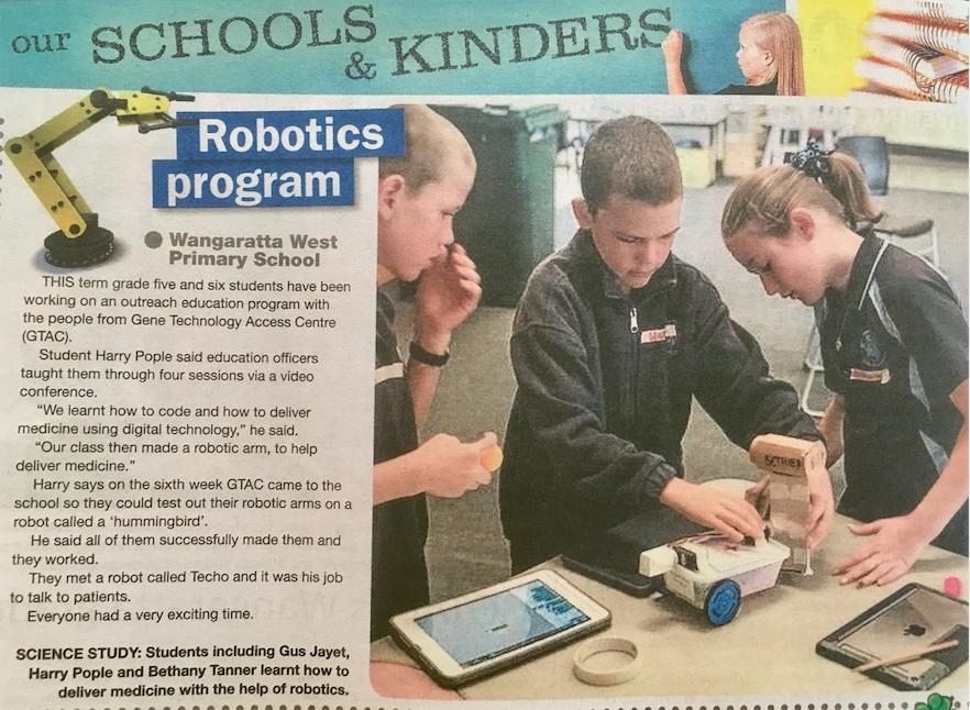 Wednesday 20th March - Robotics Program