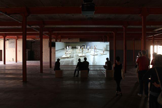 Installation View. Halle 14, Leipzig. 2008.