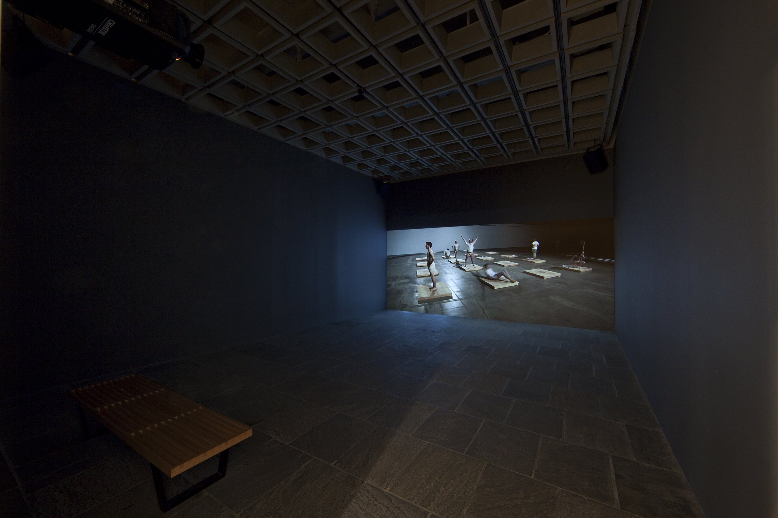 Installation view. Whitney Museum of American Art. 2010.