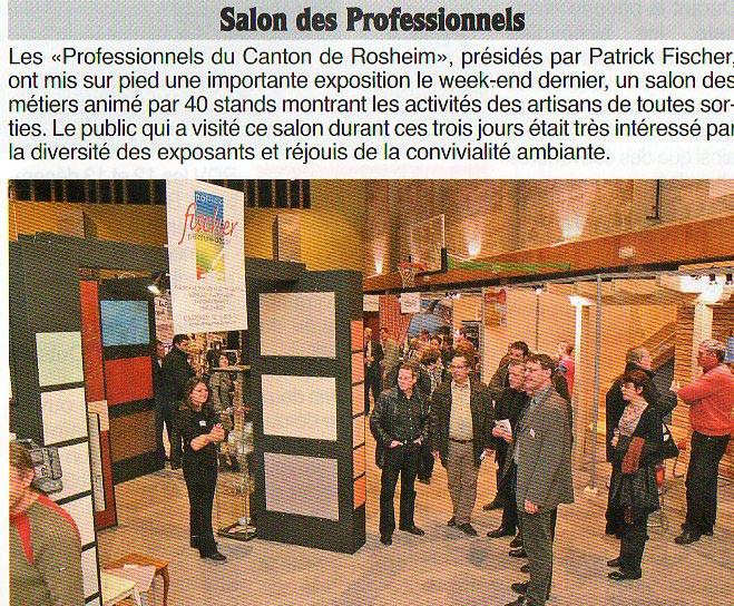 Le Courrier S'Blattel - 26/11/09