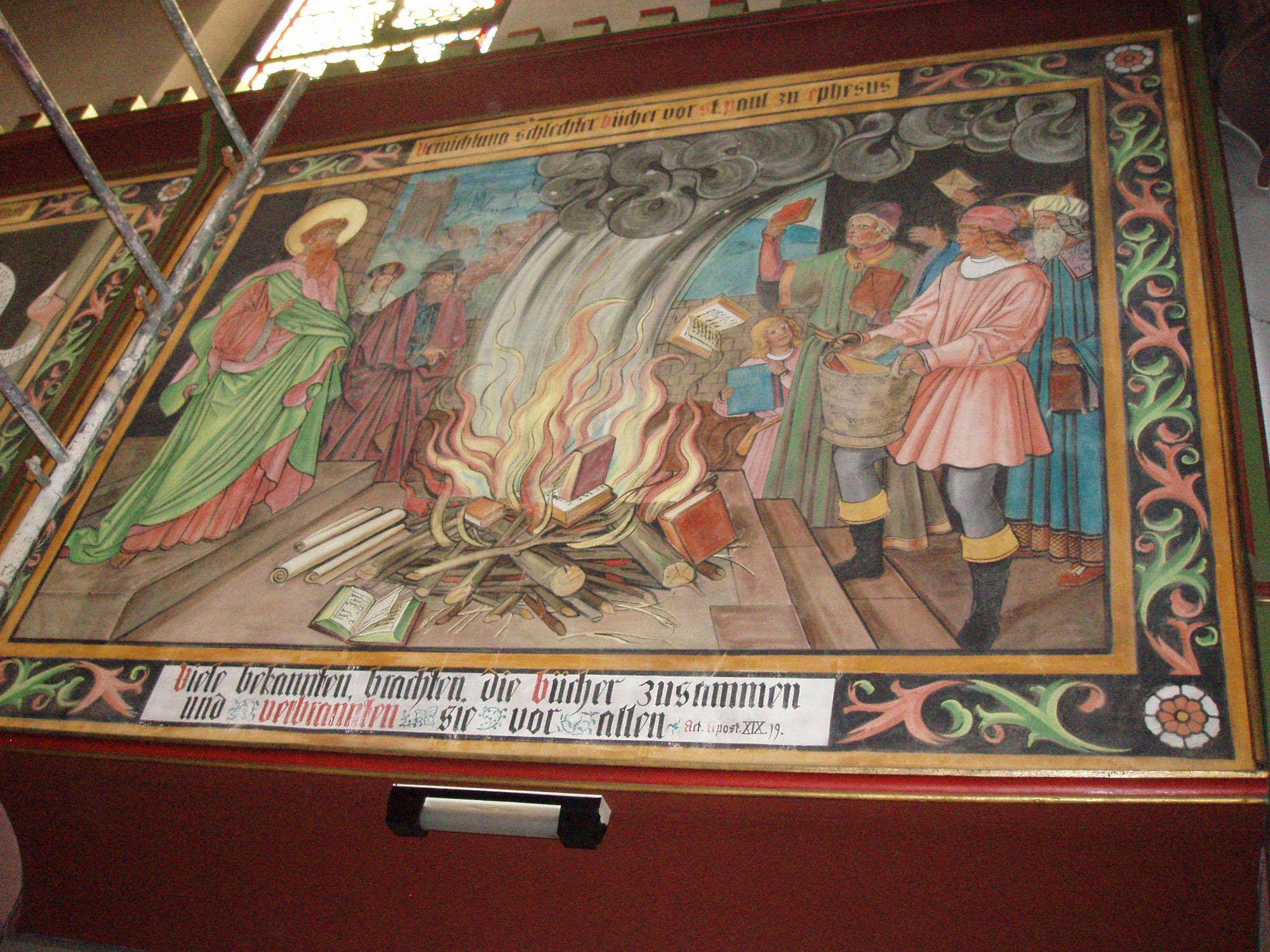 Restauration Du Patrimoine Peinture Fischer